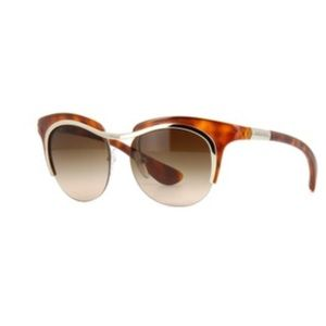 👓 Prada Dixie sunglasses Brown new